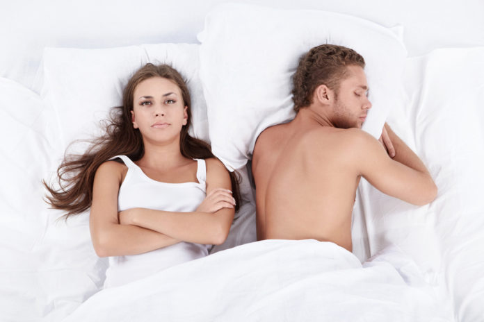 couple experiencing unhealthy relationship