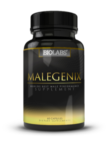 Bottle of MaleGenix male enhancement pills