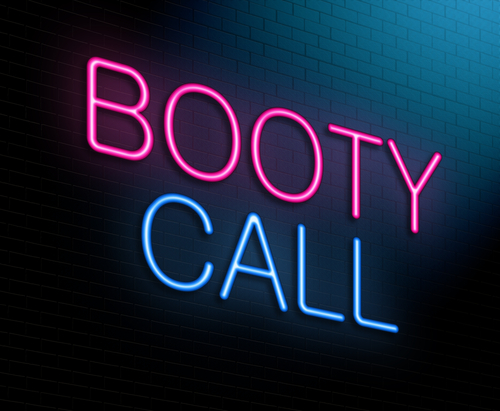 booty call neon lights