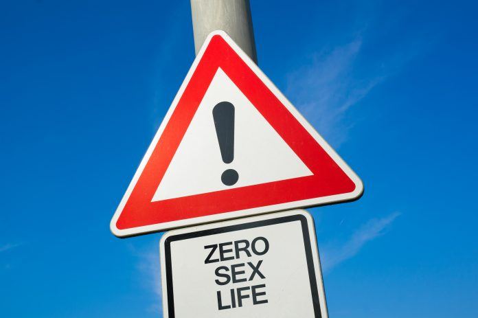 zero sex life warning sign