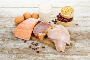 protein rich food is good to go with Progentra pills
