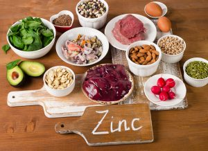 zinc rich food healthy food with Progentra
