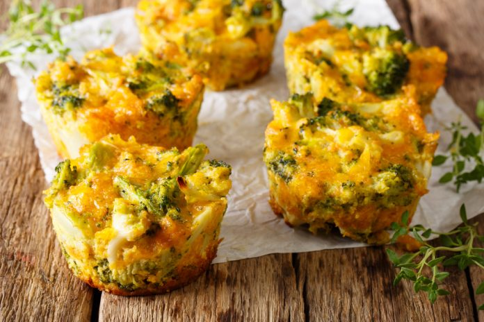 healthy egg bites for breakfast