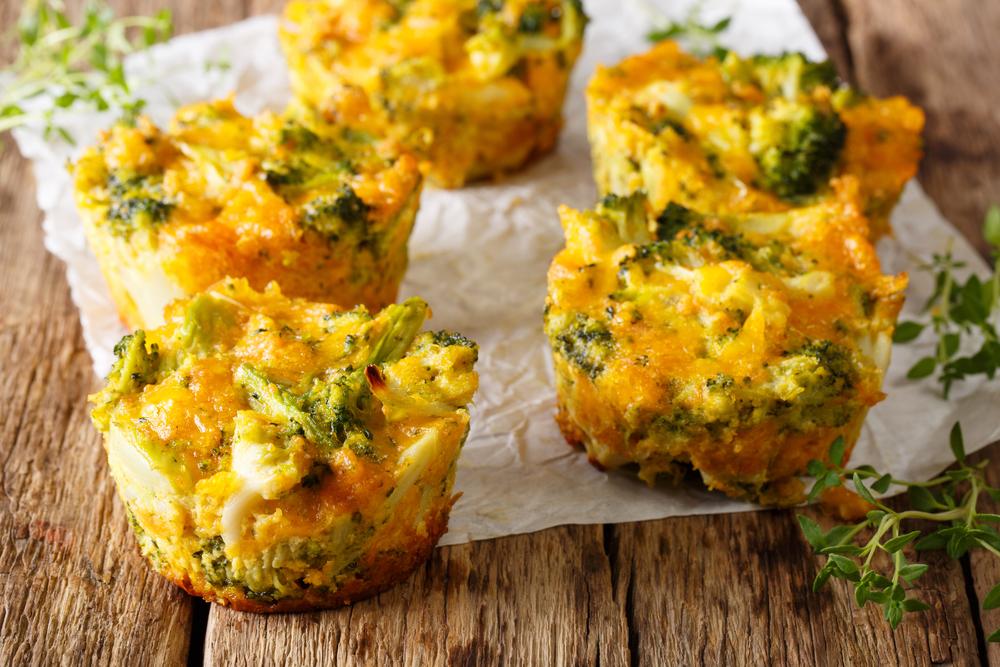 healthy egg bites for breakfast