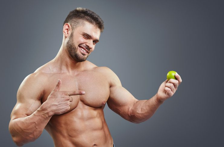 Man Holding an lime