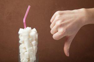no to sugary drinks