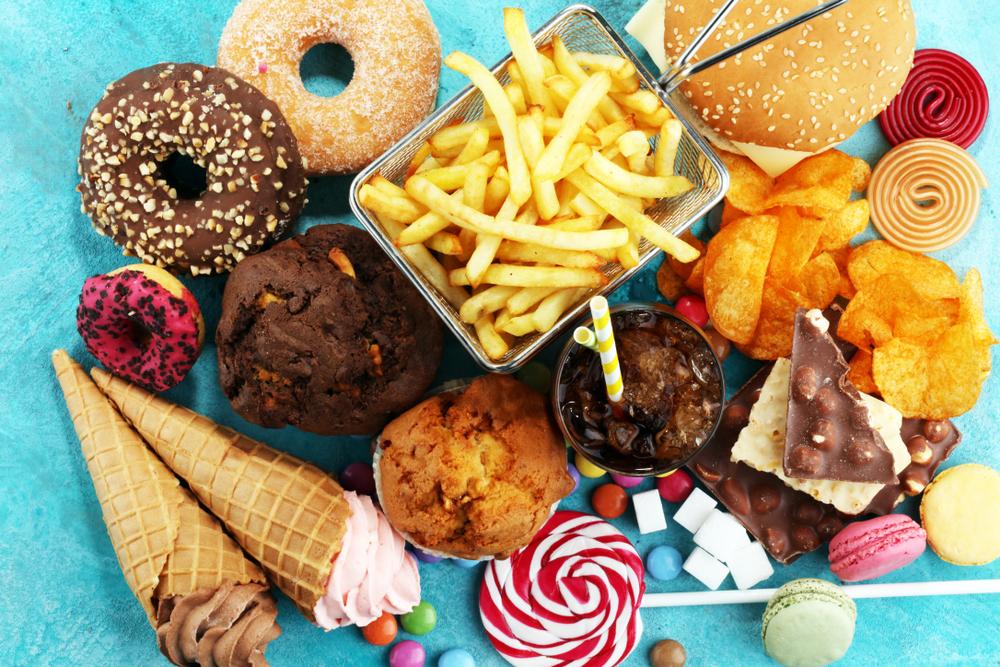 unhealthy junk food snacks
